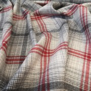 Chess - Wool - Red^Grey 02