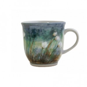 Highland Stoneware - Cotton Grass - Mug - 425