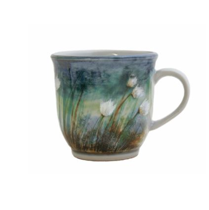 Highland Stoneware - Cotton Grass - Mug - 425
