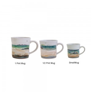 Highland Stoneware - Seascape - Mug - pint, half-pint, small