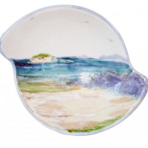Highland Stoneware - Seascape - Quaich