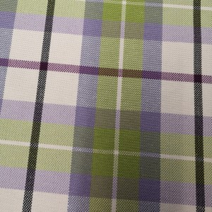 Misc - Gingham Check - Lilac^Green 01