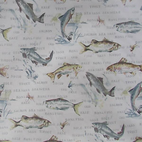 Prestigious Textiles - Fly Fishing - Slate