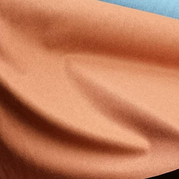 Lezan - Wool-Rich Fabric - Terracotta 01