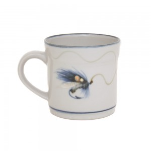 Highland Stoneware - Fishing Fly - Mug - half-pint