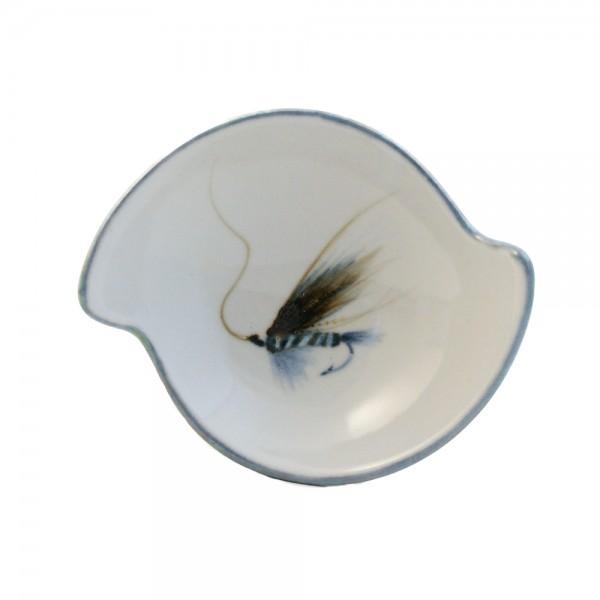 Highland Stoneware - Fishing Fly - Quaich 01
