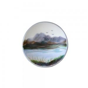 Highland Stoneware - Landscape - Geo Dish - Small