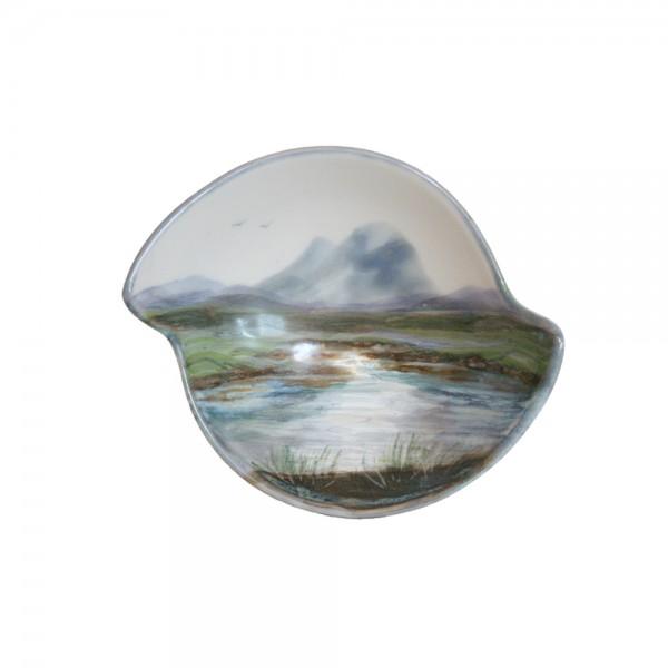 Highland Stoneware - Landscape - Quaich 01
