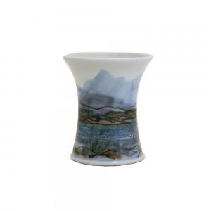 Highland Stoneware - Landscape - Vase - Cylinder - X-Small 01