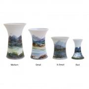Highland Stoneware - Landscape - Vases - medium, small, x-small, bud