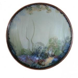 Highland Stoneware - Rockpool Celadon - Geo Dish - small 01
