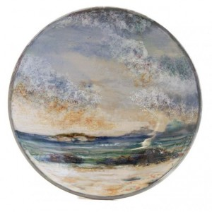 Highland Stoneware - Seascape - Geo Dish - Small