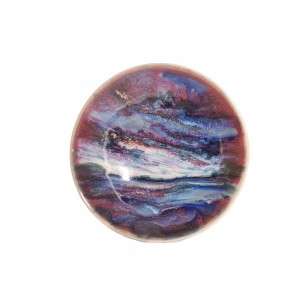 Highland Stoneware - Sunset - Geo Dish