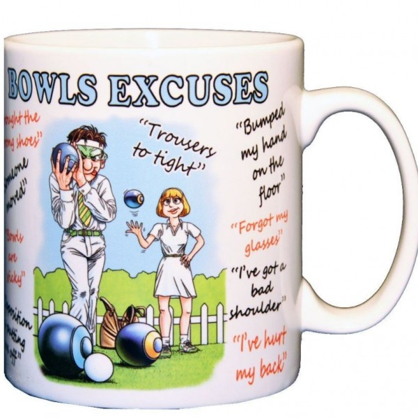 Mug - Bowls Excuses 01