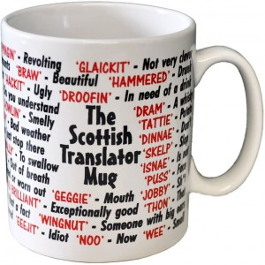 Mug - Dialect - Scottish