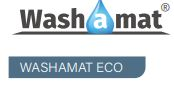 Washamat Eco with Border - Washamat Logo