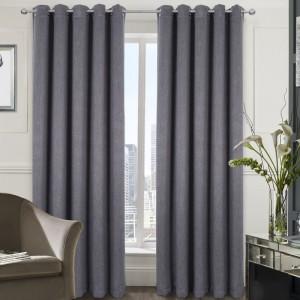 Curtains - Berlin - Eyelet - Grey 02
