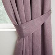 Curtains - Berlin - Mauve - Tieback