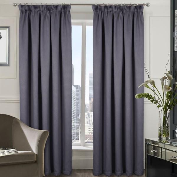 Curtains - Berlin - Pencil Pleat - Grey 02