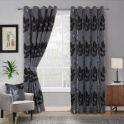 Curtains - Blakely - Black 01