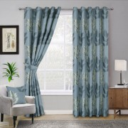 Curtains - Blakely - Blue 01