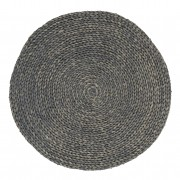 Seagrass Circle - Java Grey